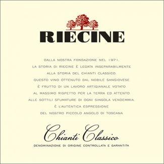 Degustazione Riecine Chianti Classico ( Toscana )