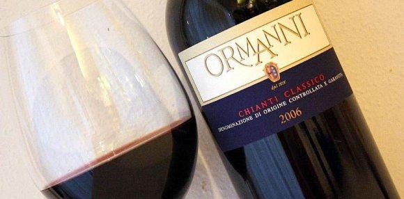 Degustazione Ormanni Chianti Classico ( Toscana )